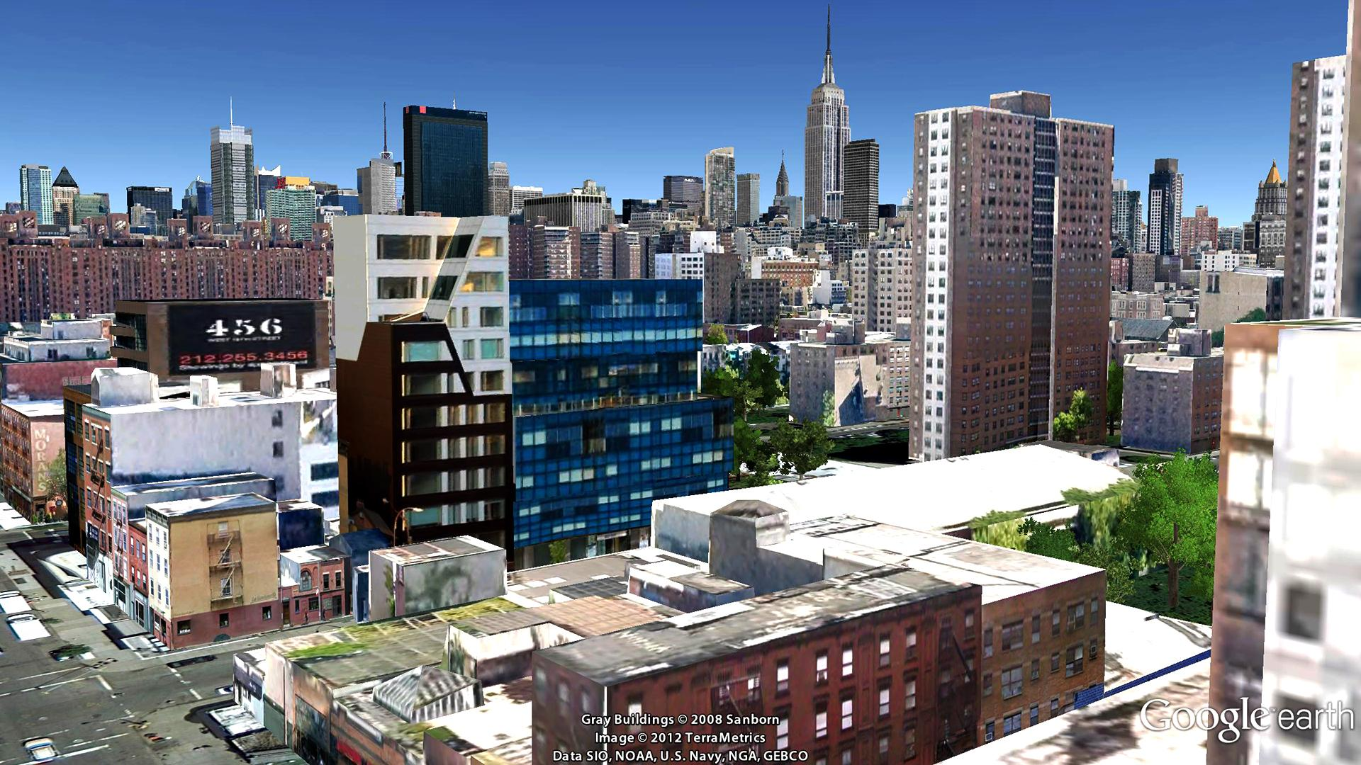 Chelsea Modern, 447 West 18th Street Aerial Imagery