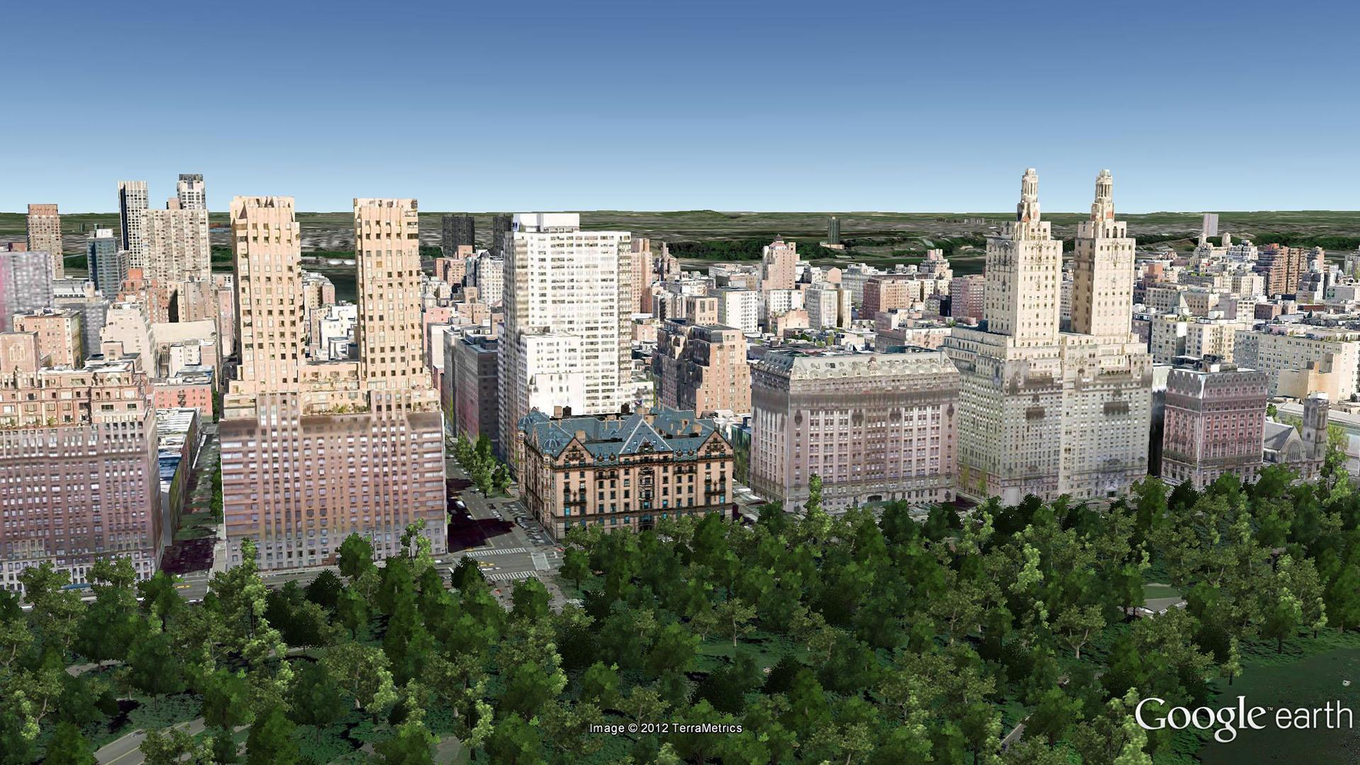 The Olcott 27 West 72nd Street Aerial Imagery