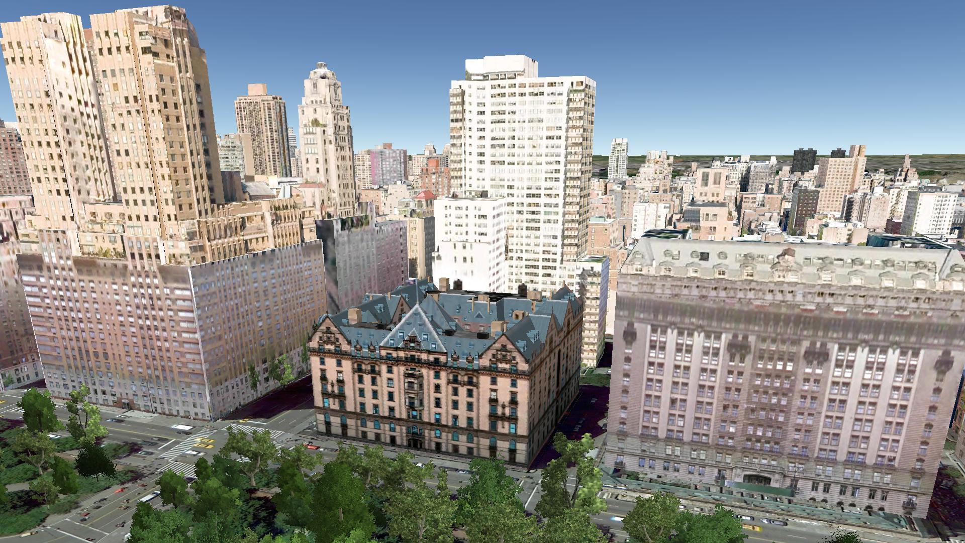 The Dakota 1 West 72nd Street Aerial Imagery